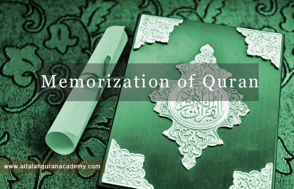 Memorization of Quran - Hifz e Quran - Al falah Quran Academy- Online Quran course